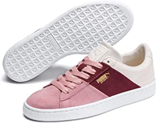 PUMA Low-Top, Pink (Bridal Rose-Fired Brick 01), Womens 8
