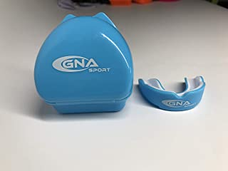GNA Sport Mouthguard Designed for Maximum Protection - Best Protection for Football, Boxing, MMA, Martial Arts, Hockey and Other Sports, BPA Free (with Vented Case)