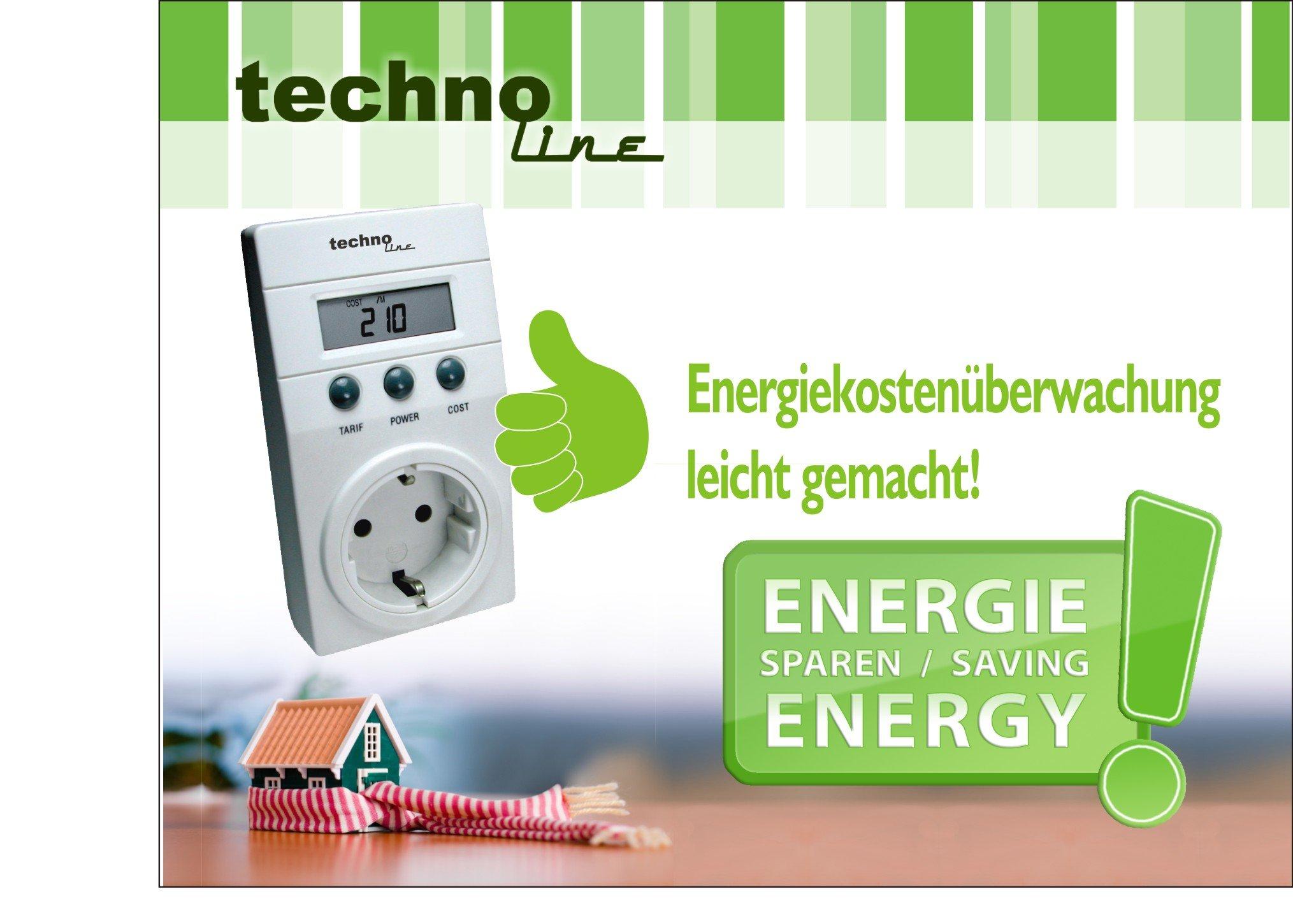 Technoline Cost Control - Medidor del Consumo Energético, Color ...