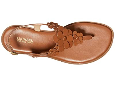 MICHAEL Michael Kors Flora Thong (Luggage) Women