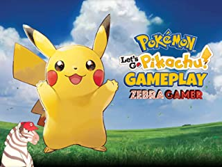 Clip: Pokemon Let's Go Pikachu Gameplay - Zebra Gamer