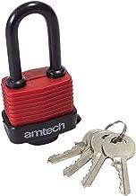 Amtech T1153 4PC Combination Padlock Set