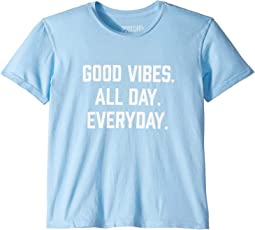 Good Vibes Crew Tee (Little Kids/Big Kids)