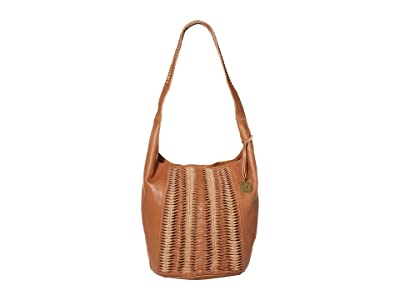 The Sak 30 Year Leather 120 Hobo (Tobacco) Handbags