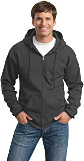 Port & Company Mens Classic Full-Zip Hooded Sweatshirt