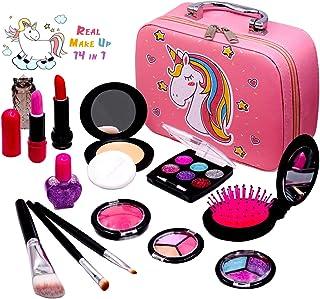 Sendida Washable Makeup Toy for Girls - Real Kids Makeup Toys Kit Princess Pretend Play Christmas...