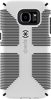 Speck 75870-1909 Dual-Layer CandyShell Grip Case for Galaxy S7 Edge - White/Black