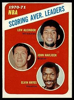 1971 -72 Topps 139 Lew Alcindor EX/NM