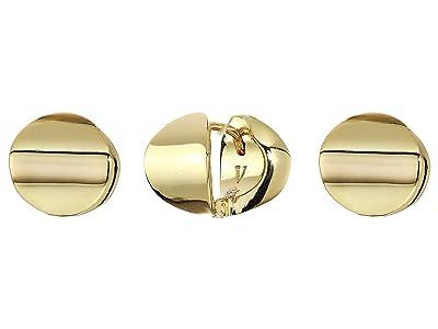 Vince Camuto Sphere Huggie Earrings (Gold) Earring