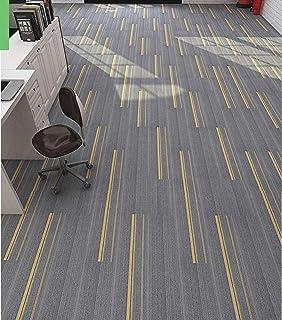 "Sponsored Ad – tonchean 12Pcs Carpet Tiles 39.37 x 9.84"" 32 sq.ft Stick Carpet Floor Tiles PVC Backed Residential and Comm..."