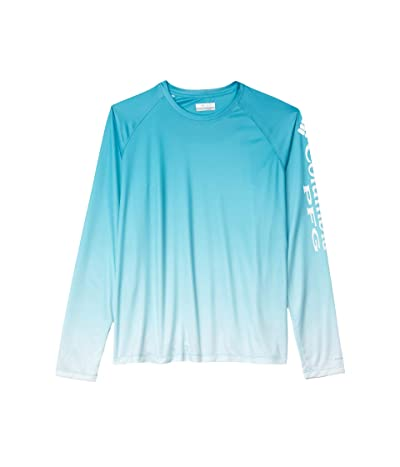 Columbia Super Tidal Tee Long Sleeve Shirt (Clear Water Gradient) Women