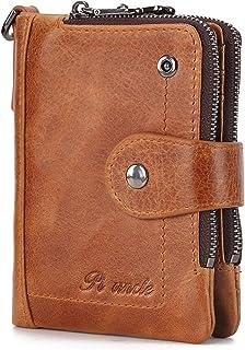 財布 メンズ 二つ折り 人気 本革 小銭入れあり 折りたたみ財布 メンズ レディース 財布 ふたつおり カードケース RFID&磁気スキミング防止 メンズさいふ 二つ折り財布 小さい財布 ファスナー 大容量