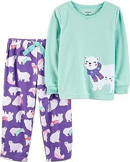 Carter's Girls 2 Piece Fleece Pajamas