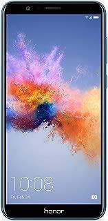"Honor 7X BND-L21 GSM Unlocked Smartphone 5.93"" FullView Display 4+64GB Storage, Dual-Lens Camera, Dual SIM, Expandable Storage International Version Blue - No Warranty"