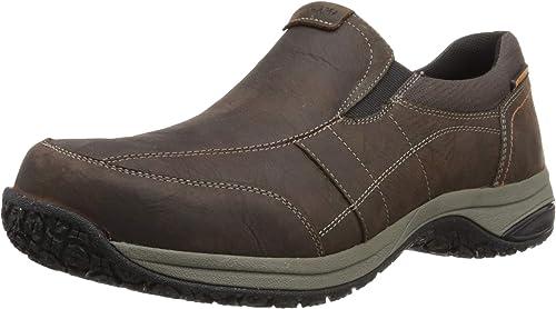 Dunham Hommes's Litchfield Waterproof Slip-on Loafer, marron, 45.5 45.5 EU  classique intemporel