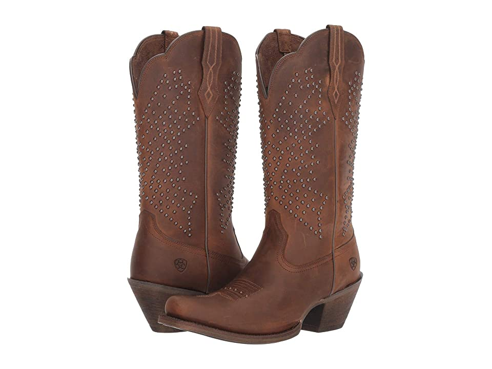 Ariat Lakyn (Distressed Brown) Cowboy Boots