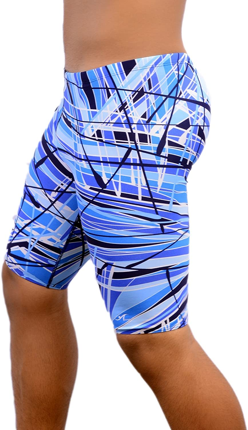 Lowest price challenge Ultrastar Boy's Men's Printed Pro Athletic Opening large release sale Swim Swimsuit Jammers