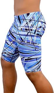 Adoretex Boy's/Men's Printed Pro Athletic Jammer Swimsuit Swim Shorts
