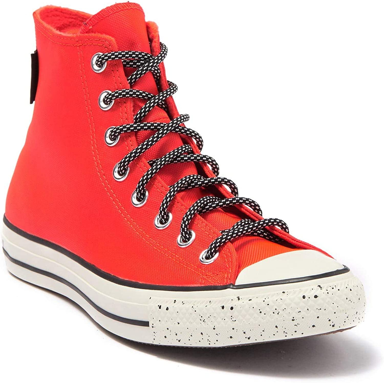 Converse Unisex Gore-Tex Chuck Taylor All Star High Top Sneaker Bright Crimson/Egret