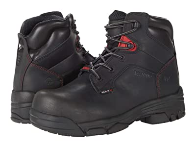 Wolverine Merlin 6 Waterproof Comp Toe (Black) Men
