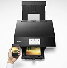 PIXMA TS8322 All-in-One Wireless Inkjet Photo Printer with Copier and Scanner, Black