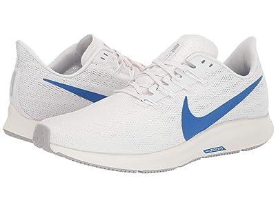 Nike Air Zoom Pegasus 36 (Platinum Tint/Game Royal/White/Sail) Men