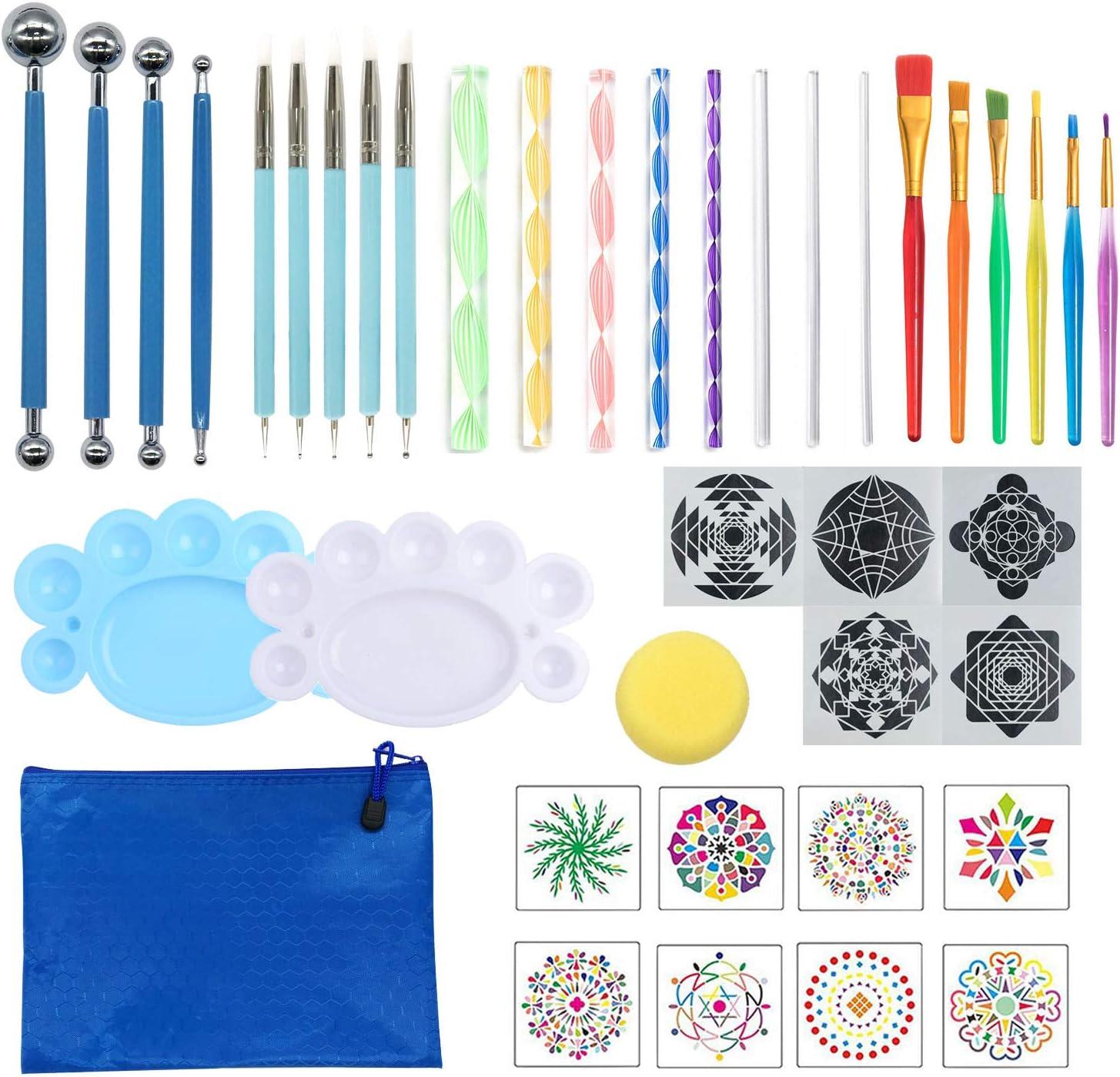 LBB 40 Pcs Mandala Dotting Tools Dallas Mall Popular brand Tool Kits f Set