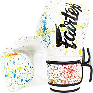 Fairtex Genuine Boxing Gloves BGV14 PT Painter 8,10,12,14,16 OZ Muaythai Boxing
