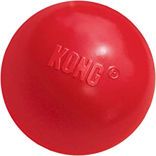 KONG - Ball with Hole - Durable Rubber, Fetch Toy - For Small Dogs