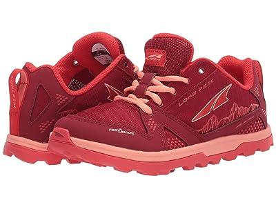 Altra Footwear Lone Peak (Little Kid/Big Kid) (Poppy) Shoes