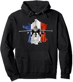 Le Rafale, avion de combat multirôle avec contour tricolore Sweat à Capuche