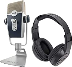 AKG C44-USB Lyra USB Microphone HD Recording Interface/Podcast Mic+Headphones