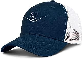 Cute Mens Trucker Hat Bertram-Boat-Logo- Baseball Caps Women Outdoor Mesh Ball Cap