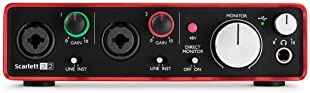 Focusrite Scarlett 2i2 (2nd Gen) USB Audio Interface with Pro Tools   First