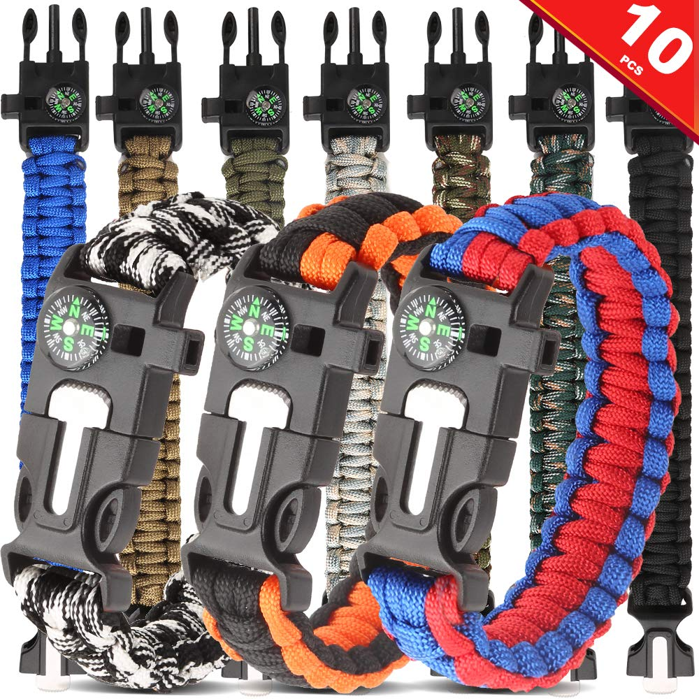 Bestsupplier Paracord Bracelet Survival Emergency