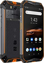 "Ulefone Armor 3W(2019) Rugged Smartphone Unlocked, IP68 Waterproof Cell phone, Android 9.0 10300mAh Big Battery 6GB+64GB, Dual 4G Global Bands 5.7"" FHD+, Compass, GPS+Glonass, NFC, Shockproof (Orange)"