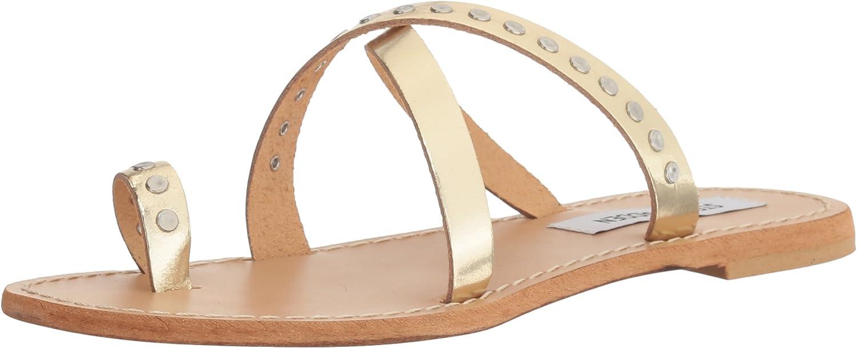 Steve Madden Womens Becky Toe Ring Sandal