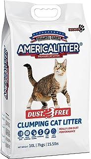 America Litter Cat Litter Dust Free 7Kg / 10L, Grey, CLAMERICADF