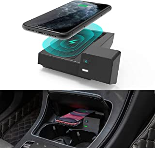CarQiWireless Wireless Car Charger for Mercedes Benz C-Class GLC Accessories 2021-2015 for Mercedes-Benz C300 C43 AMG C63 ...