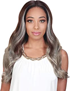 Zury Sis Synthetic Royal Pre-Tweezed Swiss Lace Front Wig - SW LACE H LADY (1B)