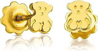 Baby 18k Yellow Gold Stud Earrings