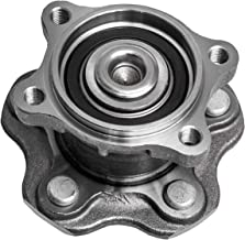 TUCAREST 512292 Rear Wheel Bearing and Hub Assembly Compatible 2002-2006 Nissan Altima 2004-2008 Maxima 04-09 Quest [5 Lug W/ABS](512201 512268)