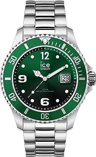 Ice Steel Mens Analog Quartz Watch with Stainless Steel Bracelet IC016544