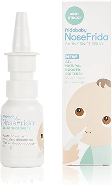 Saline Nasal Spray NoseFrida Saline Snot Spray By Fridababy All Natural Sea Salt And Water Formula Moisturizes And Cleans Nasal Passages