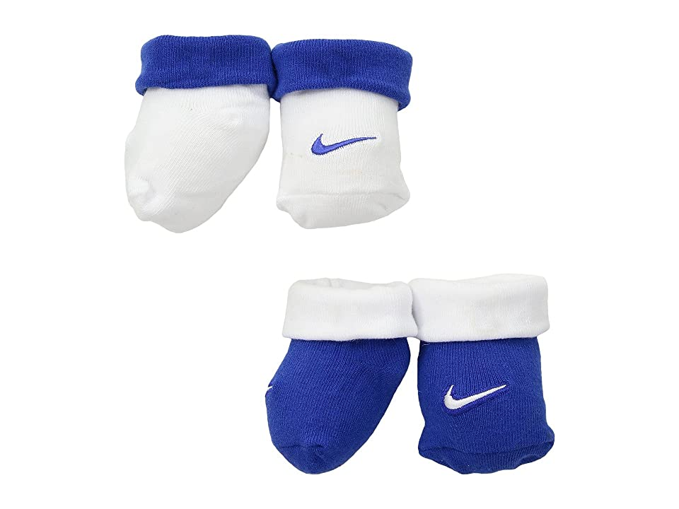 Nike Kids Simple Swish Bootie 2-Pair Pack (Infant) (Game Royal) Boys Shoes