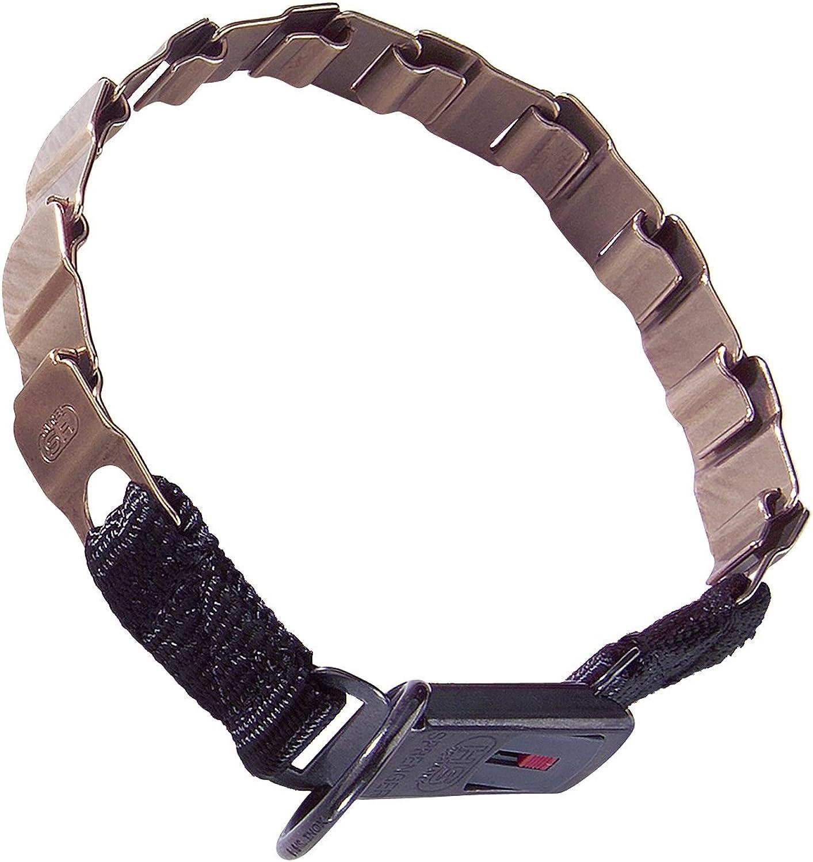 LuvMyDog Worldwide Neck Tech Fun Curogan ClicLock Buckle Flat Collar 48cm 19