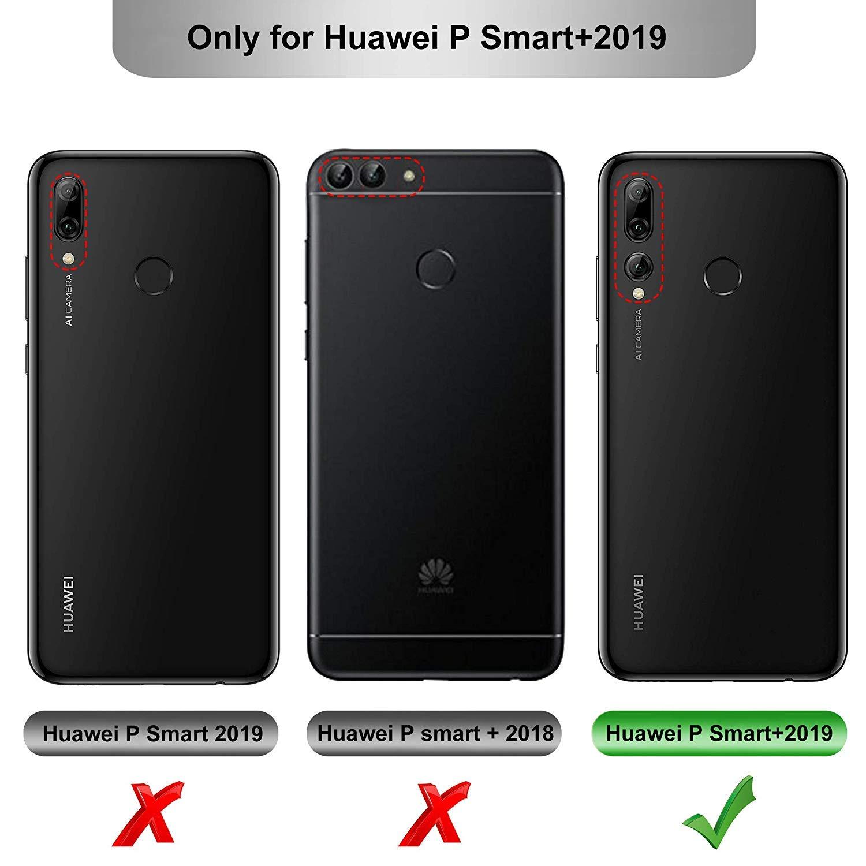 MICASE Funda para Huawei P Smart Plus 2019, Carcasa Silicona Suave ...