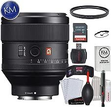 Sony FE 85mm f/1.4 GM Lens w/ 32GB Memory and Lens Bundle
