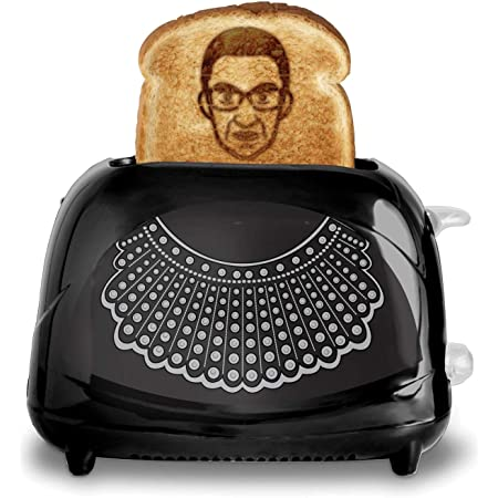 Ruth Bader Ginsburg Toaster, Toasts RBG's Face on Your Toast, SCOTUS Toaster