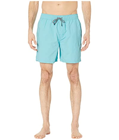 Reyn Spooner Solid Swim Trunks (Blue Radiance) Men